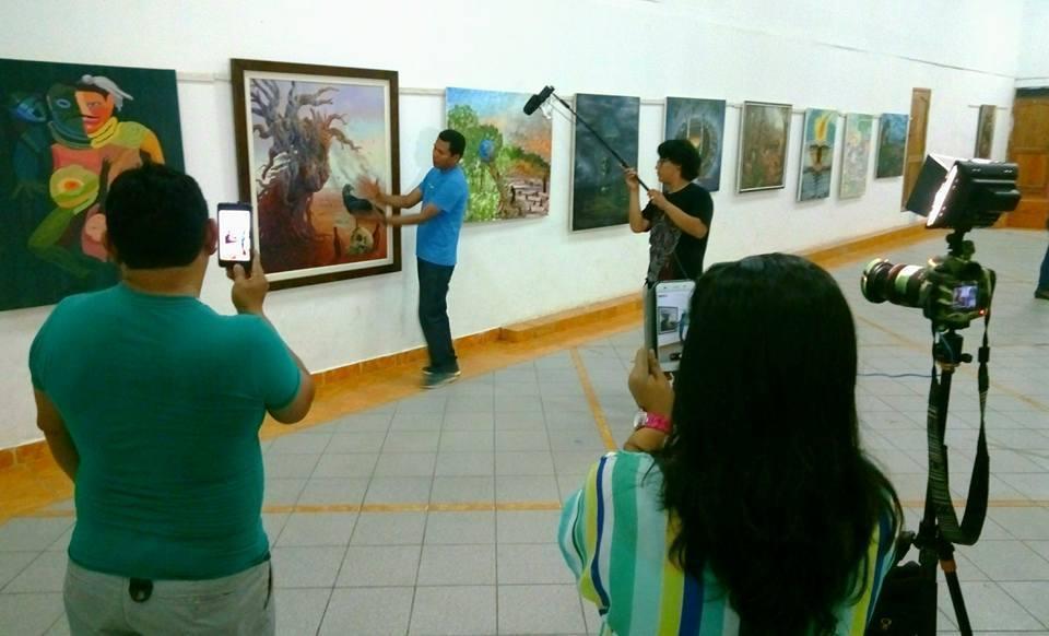 Exponen muestra de pinturas con temática ambientalista y ...