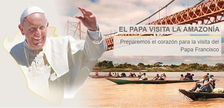 Resultado de imagen para amazonia madre de Dios papa francisco